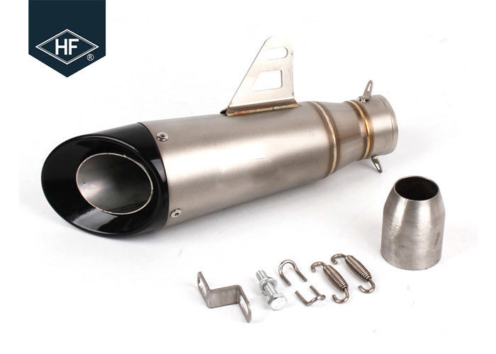 Silencer Kit Honda Motorcycle Muffler , 36mm 51mm Motorbike Slip On Mufflers Cafe Racer Exhaust