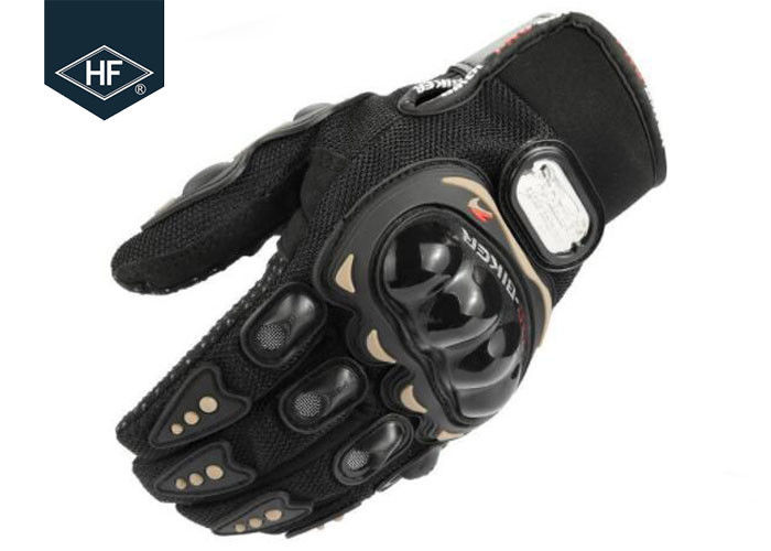 Black Red Blue Off Road Motorcycle Accessories Waterproof Full Finger Gloves